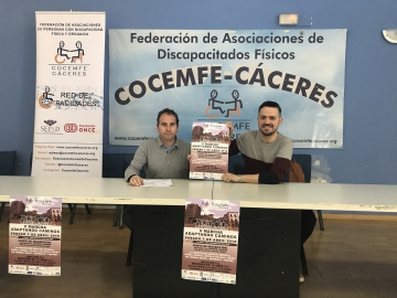 gerente y coordinador del proyecto red de capacidades, Julián Álvarez y Toni Vigara